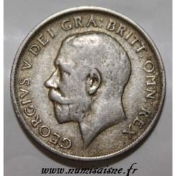 GRANDE BRETAGNE - KM 816a - 1 SHILLING 1920 - GEORGE V