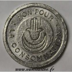 ALGÉRIE - BON POUR LA CONSOMMATION - AVEC SIGNATURE VOLANT