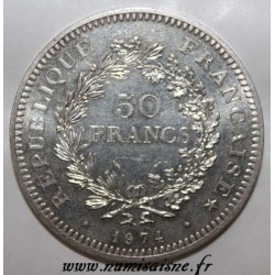 FRANCE - KM 941 - 50 FRANCS 1974 - TYPE HERCULE - REVERSE OF 20 FRANCS