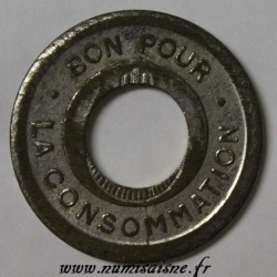 ALGERIA - GOOD FOR CONSUMPTION - HOLED, WITHOUT MINTMARK AND SIGNATURE