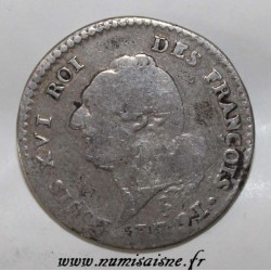 FRANKREICH - KM 604 - LUDWIG XVI - 15 SOLS 1791 A - Paris