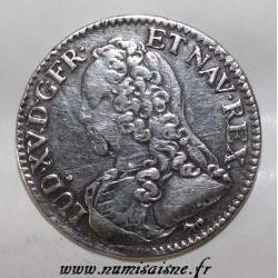 FRANCE - Gad 298 - LOUIS XV - 1/5 ECU WITH OLIVE BRANCHES - 1726 A - Paris