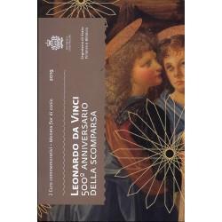 SAINT-MARIN - 2 EURO 2019 - 500 years of the death of Leonardo da Vinci