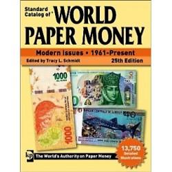 WORLD PAPER MONEY BILLETS DU MONDE DEPUIS 1961 - 25 ème Ed 2019