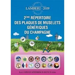 REPERTOIRE DES MUSELETS GENERIQUES DE CHAMPAGNE - 2EME EDITION - 2019