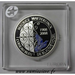 BELGIUM - KM 266 - 10 EURO 2008 - MAURICE MAETERLINCK - THE BLUE BIRD - DE BLAUWE VOGEL