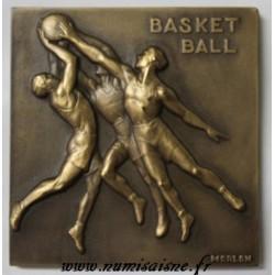 02 - MÉDAILLE - BASKETBALL - CHAMPIONNAT D'HONNEUR - A.S.G.F. - 1953