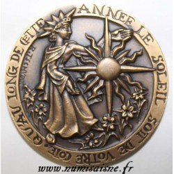 County 60 - MEDAL - VILLERS SAINT PAUL - THAT THE SUN IS IN YOUR SIDE THROUGHOUT THIS YEAR
