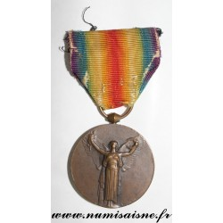 INTER-ALLIED MEDAL - THE GREAT WAR FOR CIVILIZATION - 1914 - 1918