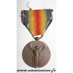 MÉDAILLE INTERALLIÉE - LA GRANDE GUERRE POUR LA CIVILISATION - 1914 - 1918