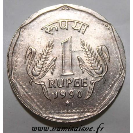 INDIA - KM 79.1 - 1 RUPEE 1990 * - Hyderabad