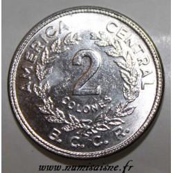 COSTA RICA - KM 211.1 - 2 COLONES 1983