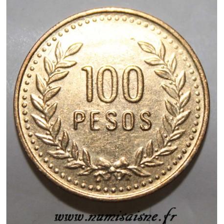 COLOMBIA - KM 285.1 - 100 PESOS 1993