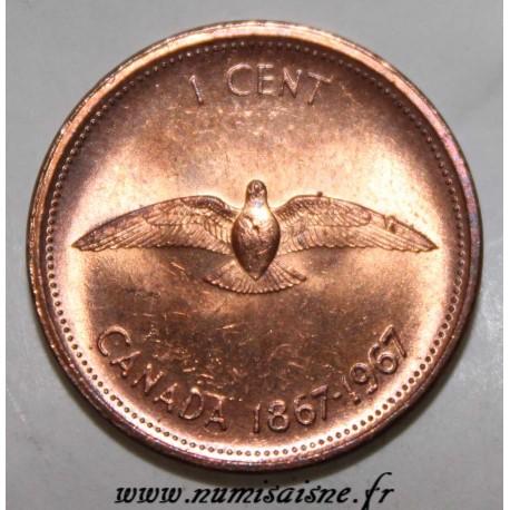 CANADA - KM 65 - 1 CENT 1967