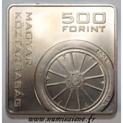 HONGRIE - KM 781 - 500 FORINT 2005