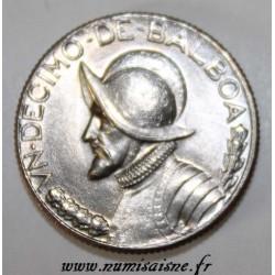 PANAMA - KM 10 - 1/10 BALBOA 1968