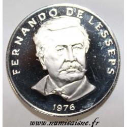 PANAMA - KM 38.1 - 50 CENTESIMOS 1976 - FERNANDO DE LESSEPS