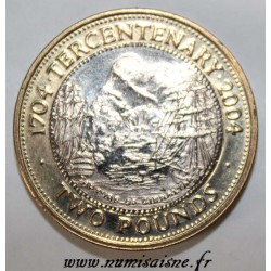 GIBRALTAR - KM 1057 - 2 POUNDS 2004