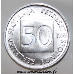 SLOVENIA - KM 3 - 50 STOTINOV 1995