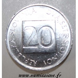 SLOVENIA - KM 8 - 50 STOTINOV 1993