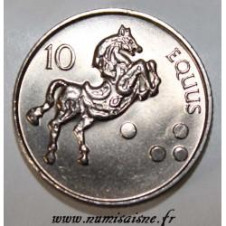 SLOVENIA - KM 41 - 10 TOLARJEV 2000