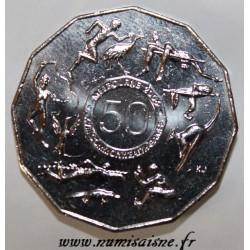 AUSTRALIA - KM 769 - 50 CENTS 2005 - XVIIIE COMMONWEALTH GAMES