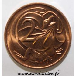 AUSTRALIA - KM 63 - 2 CENTS 1980