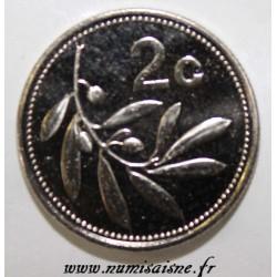 MALTA - KM 94 - 2 CENTS 2002