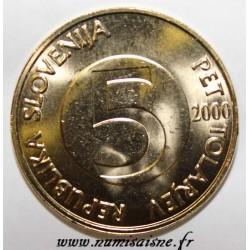 SLOVENIA - KM 6 - 5 TOLARJEV 2000