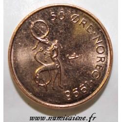 NORWAY - KM 460 - 50 ORE 1998