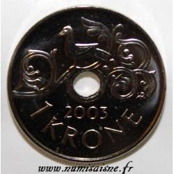 NORWAY - KM 462 - 1 KRONE 2003
