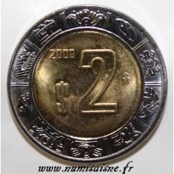 MEXICO - KM 604 - 2 PESOS 2000