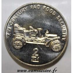 CORÉE DU NORD - KM 197 - 2 CHON 2002