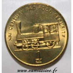 CORÉE DU NORD - KM 195 - 1 CHON 2002