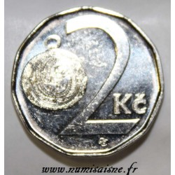 TCHECOSLOVAQUIE - KM 9 - 2 KORUN 2003
