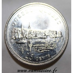 CANADA - KM 234 - 25 CENTS 1992 - QUEBEC