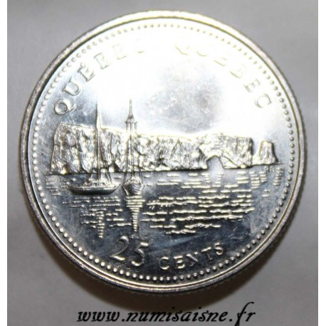 CANADA - KM 234 - 25 CENTS 1992 - QUEBEC