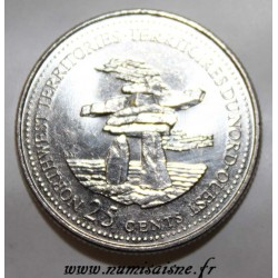 CANADA - KM 212 - 25 CENTS 1992 - NORTHWEST TERRITORIES