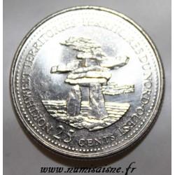 CANADA - KM 212 - 25 CENTS 1992 - TERRITOIRES DU NORD-OUEST