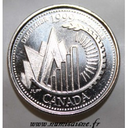 CANADA - KM 353 - 25 CENTS 1999 - DECEMBER