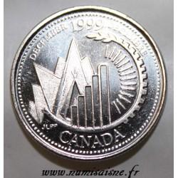 CANADA - KM 353 - 25 CENTS 1999 - DÉCEMBRE