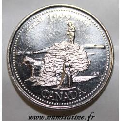 KANADA - KM 349 - 25 CENTS 1999 - AUGUST