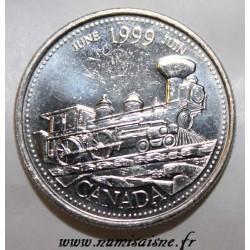 KANADA - KM 347 - 25 CENTS 1999 - JUNI
