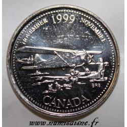 KANADA - KM 352 - 25 CENTS 1999 - NOVEMBER