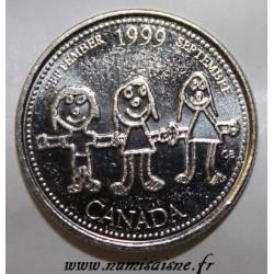 KANADA - KM 350 - 25 CENTS 1999 - SEPTEMBER