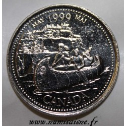 CANADA - KM 346 - 25 CENTS 1999 - MAI