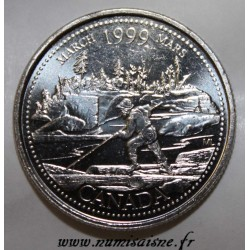 CANADA - KM 344 - 25 CENTS 1999 - MARCH