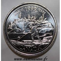KANADA - KM 344 - 25 CENTS 1999 - MÄRZ