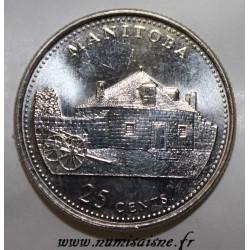 CANADA - KM 2174 - 25 CENTS 1992 - MANITOBA
