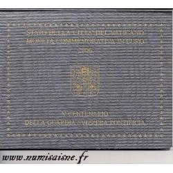 VATICAN - 2 EURO 2006 - BENEDICT XVI - CENTENARY OF THE SWISS PONTIFICAL GUARD